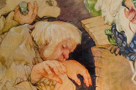 Schilderij Piano Olga Wiese